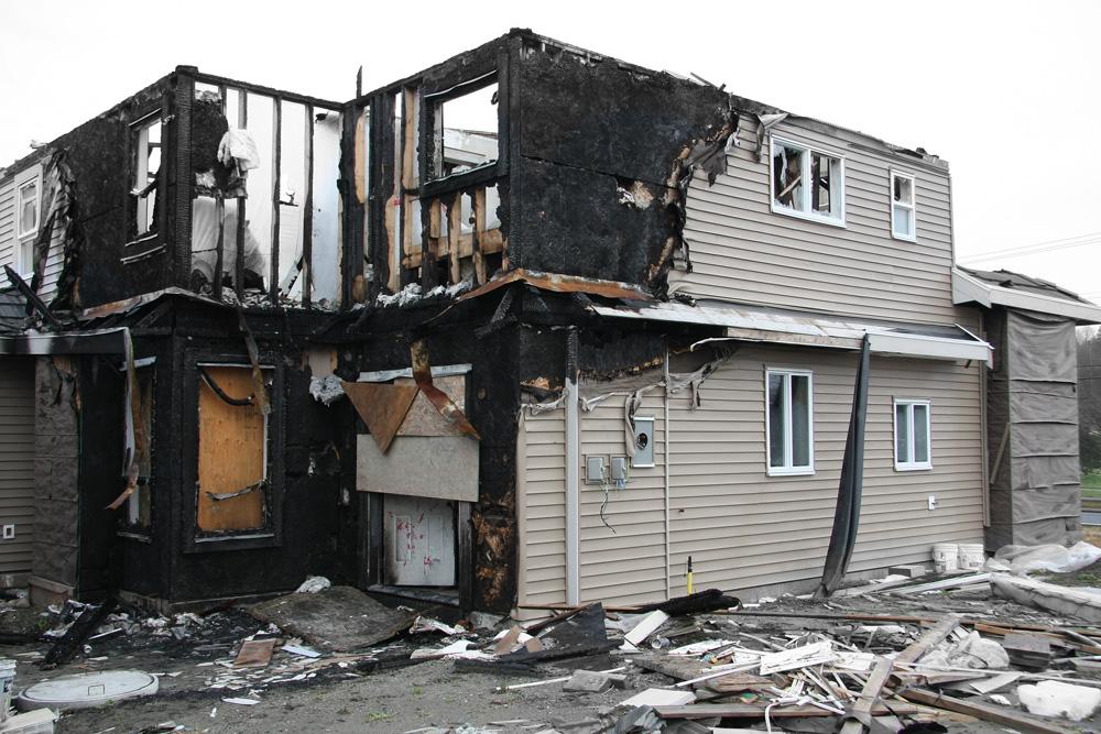 Destroyed Property Clark County Washington