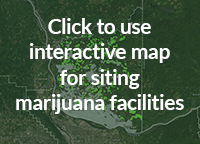 Click for interactive map for siting marijuana facilities
