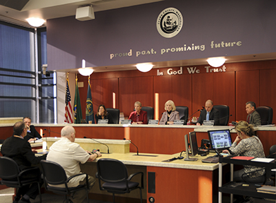 Clark County Council in session January 2019