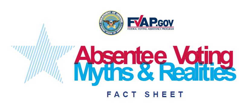 Absentee voting - Myths and realities