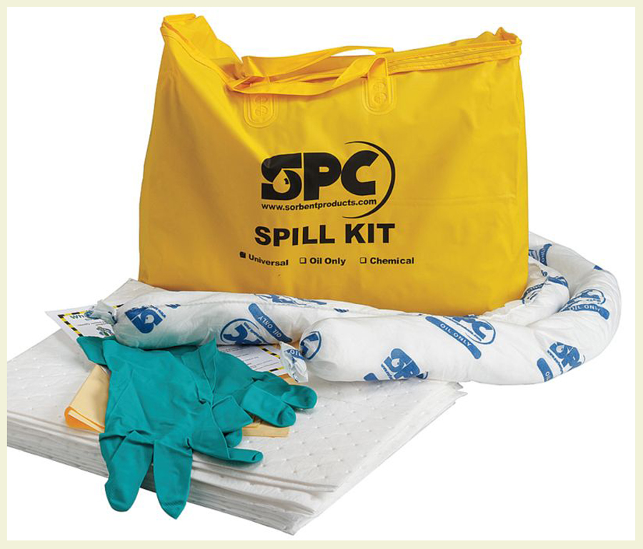 Spill containment kit example