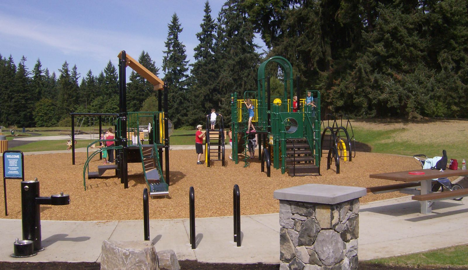 Clarence and Kate LaLonde Neighborhood Park playground