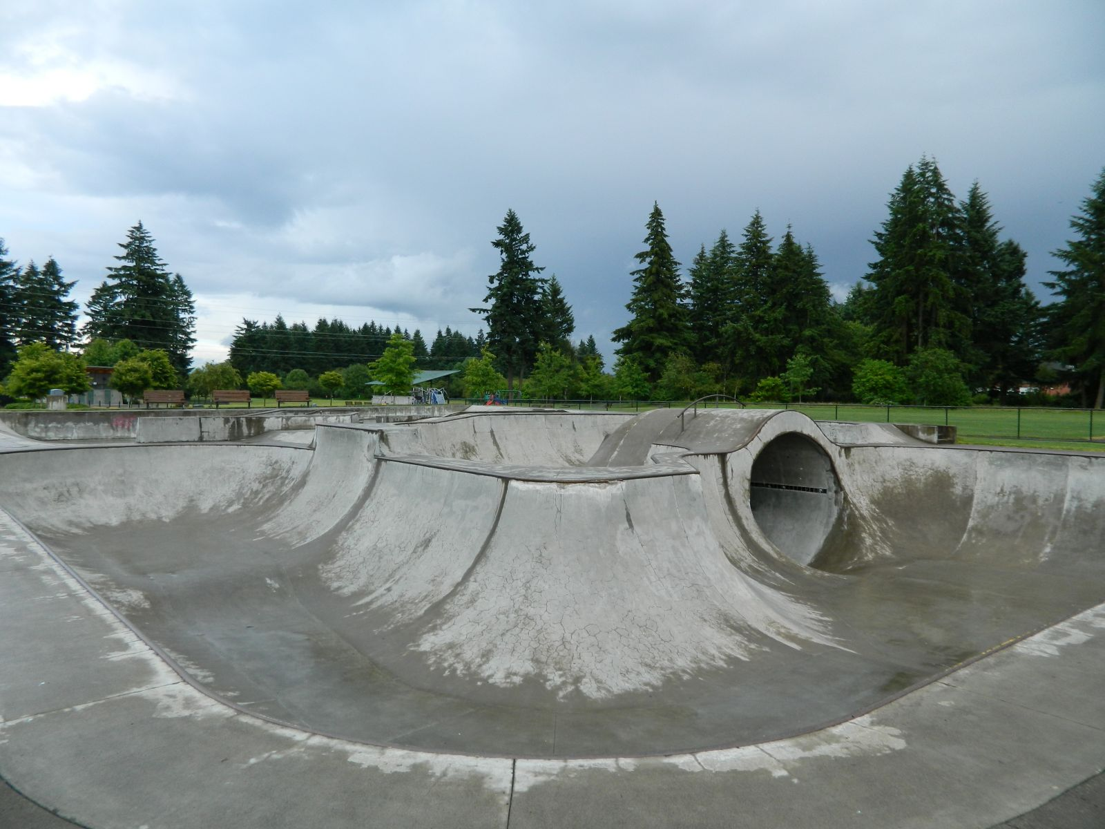 Pacific Community Park's Extreme Sports Area