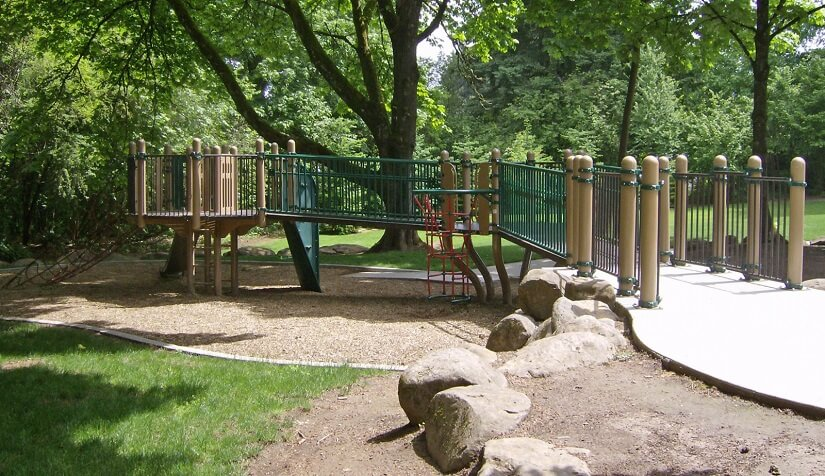 Tenny Creek Neighborhood Park, which was completed in 2007  as part of the Greater Clark Parks District.