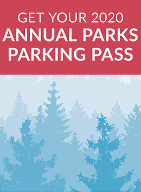 Copy of the 2019 parking pass.