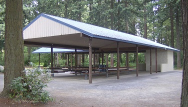 ​Picnic shelter at Orchards Community Park.Click and drag to move​