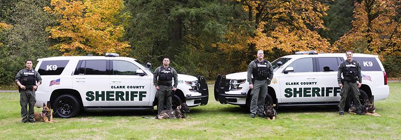K9 Patrol | Clark County Washington