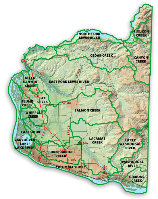 Watershed Assessment Clark County Washington