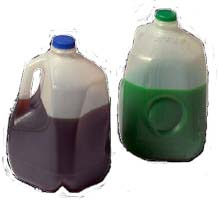 antifreeze and oil