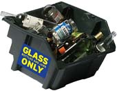 Glass Recycle Bin