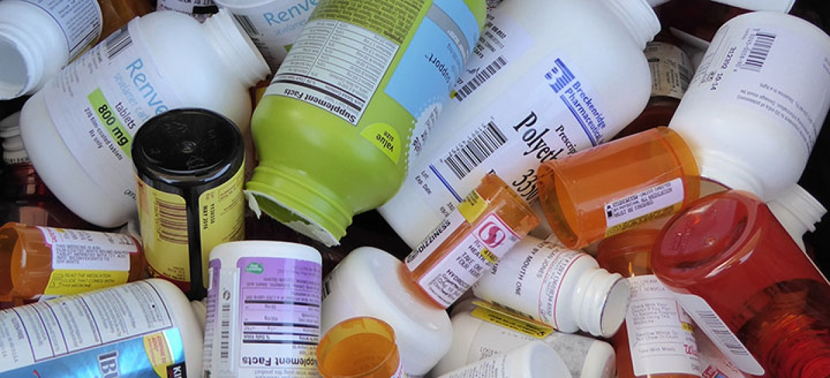 Image of medication bottles