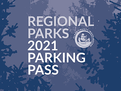 Graphic depiction of regional parks parking pass