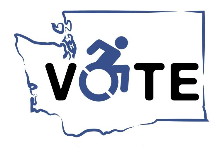 Get Out the Disability Vote Logo